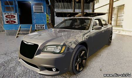 2012 Chrysler 300 SRT8 для GTA IV