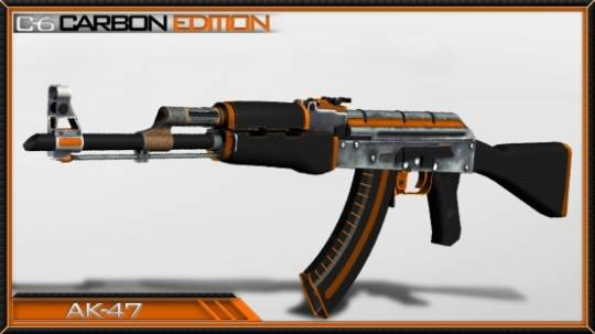 AK-47 CarbonEdition из CS GO для CSS